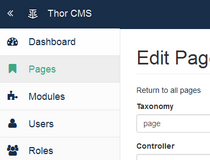 Laravel CMS and related apps