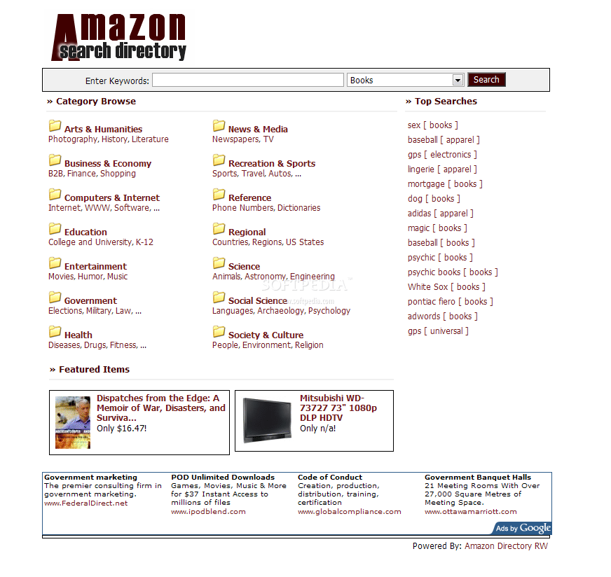 Amazon Directory RW screenshot 3