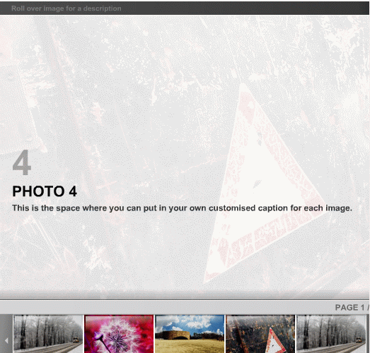 Another XML Gallery screenshot 1
