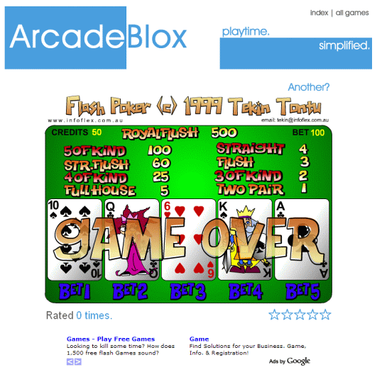 ArcadeBlocks screenshot 2