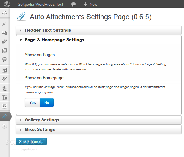 Auto Attachments screenshot 2