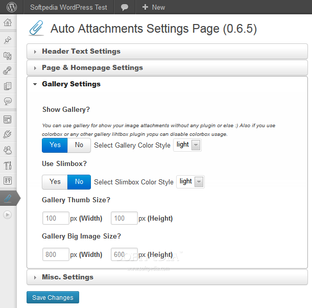 Auto Attachments screenshot 3