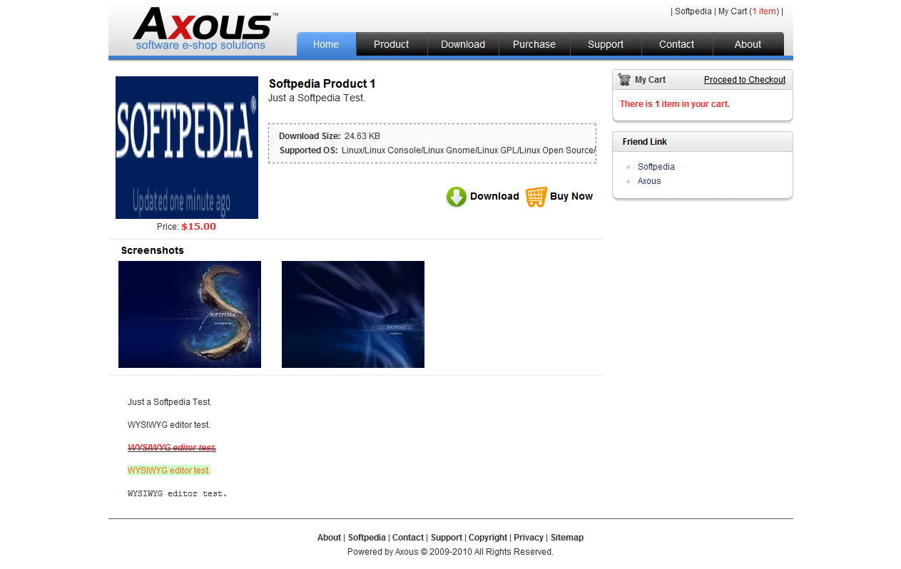 Axous Software Shop screenshot 20