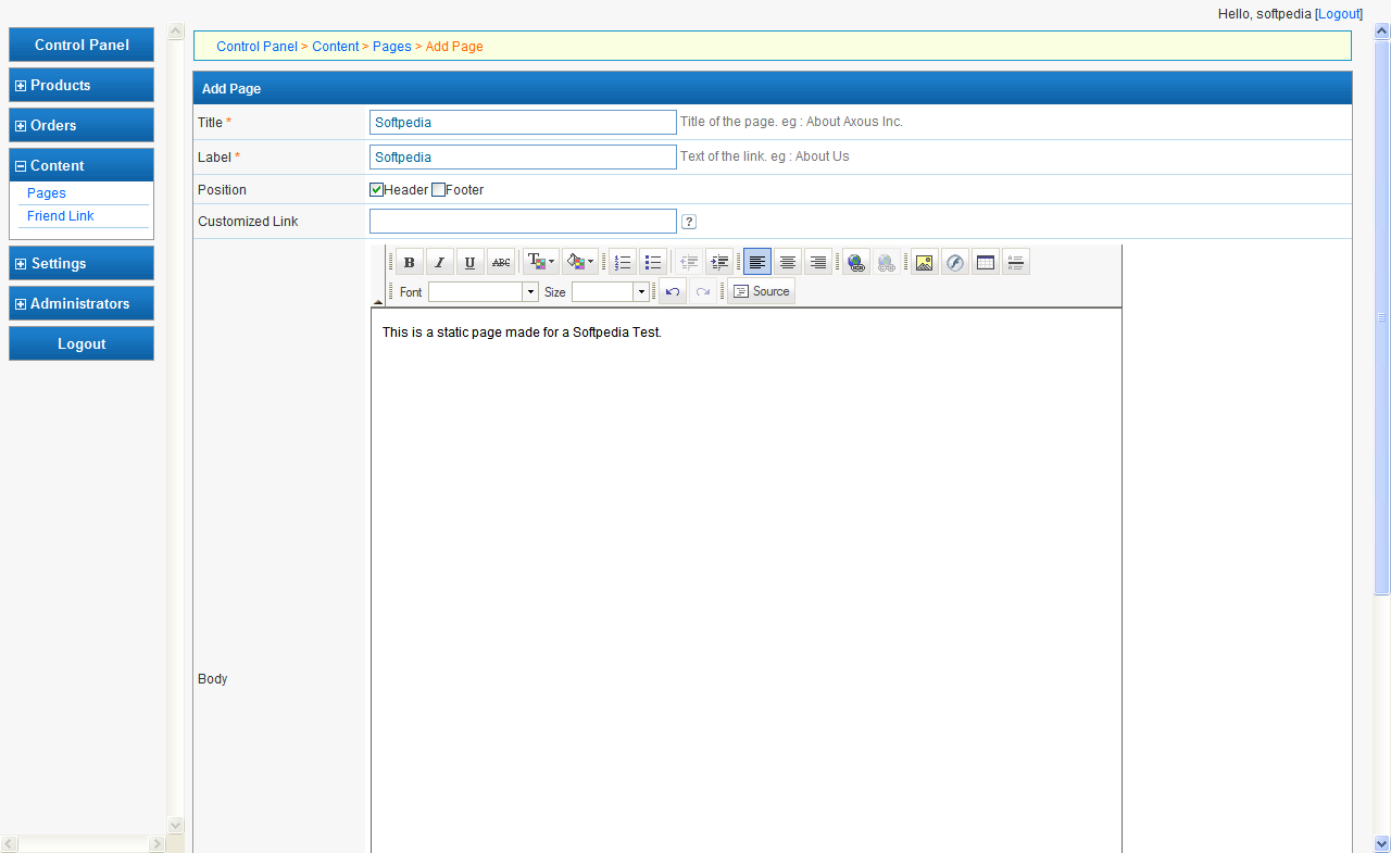 Axous Software Shop screenshot 9