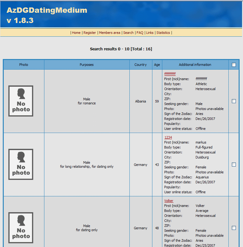 AzDGDatingMedium screenshot 3