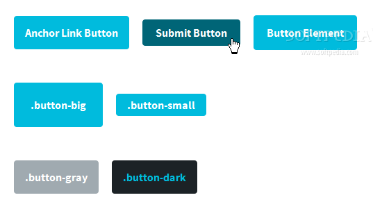 BASSCSS - Basic button styles are also included with the BASSCSS UI framework