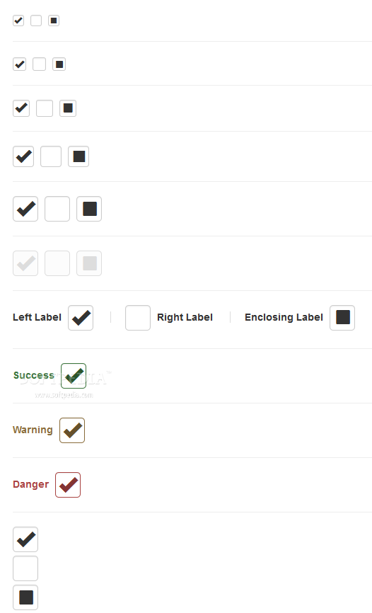 Bootstrap Checkbox X - Bootstrap Checkbox X helps developers improve how checkboxes look and behave