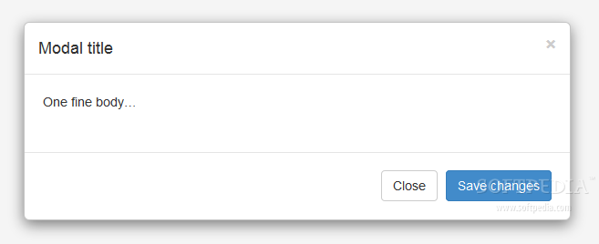 Bootstrap for Sass - Modal popup windows are supported natively with Bootstrap for Sass