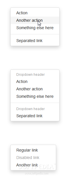 Bootstrap for Sass - Drop-down menus are easy to create via Bootstrap for Sass