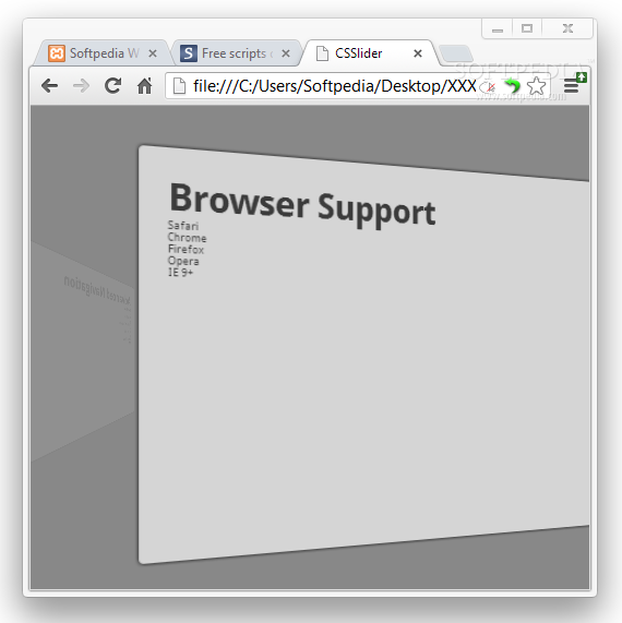 CSSlider screenshot 2