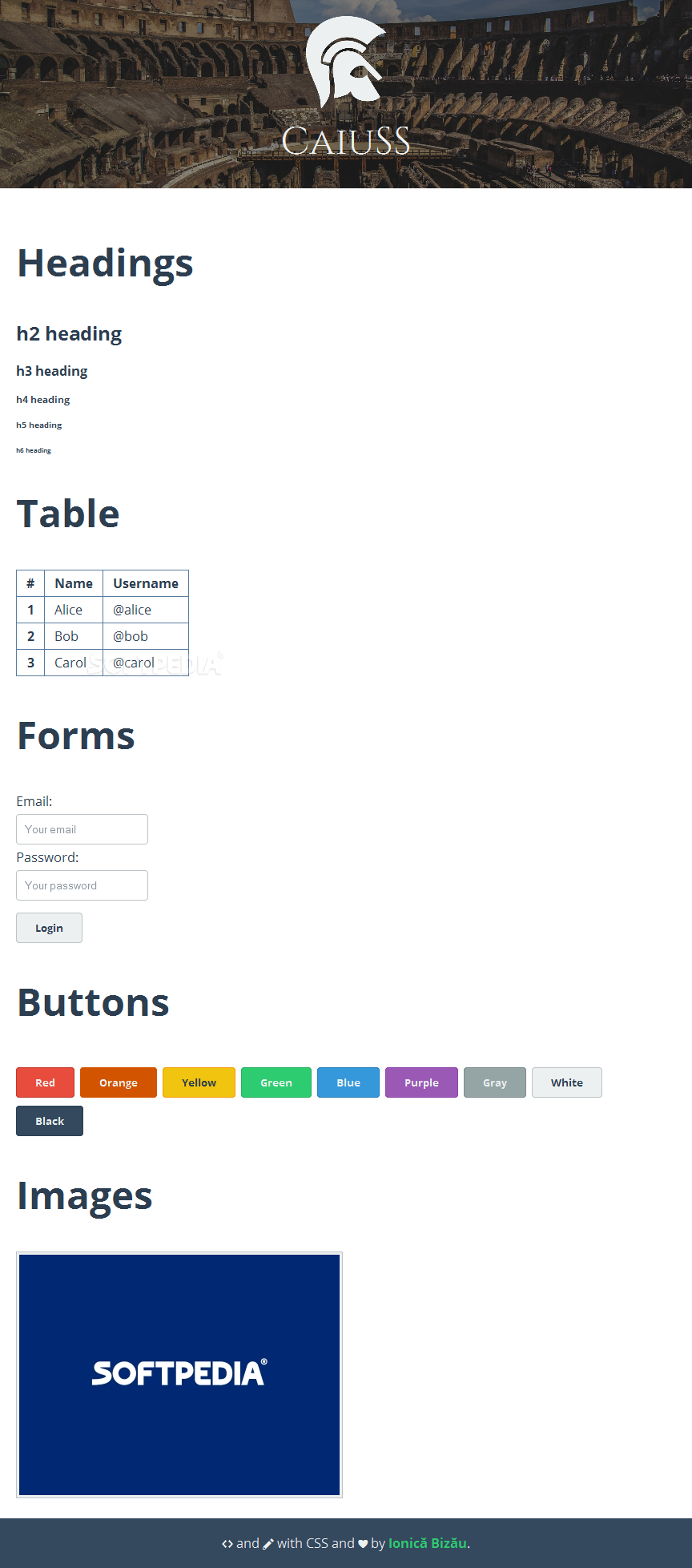 CaiuSS - CaiuSS will help you setup simple Web pages if you're in a rush