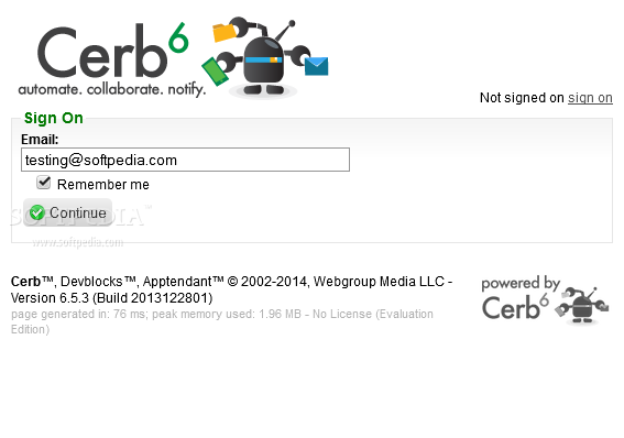 Cerberus Helpdesk - The Cerberus Helpdesk comes with a powerful user authentication system
