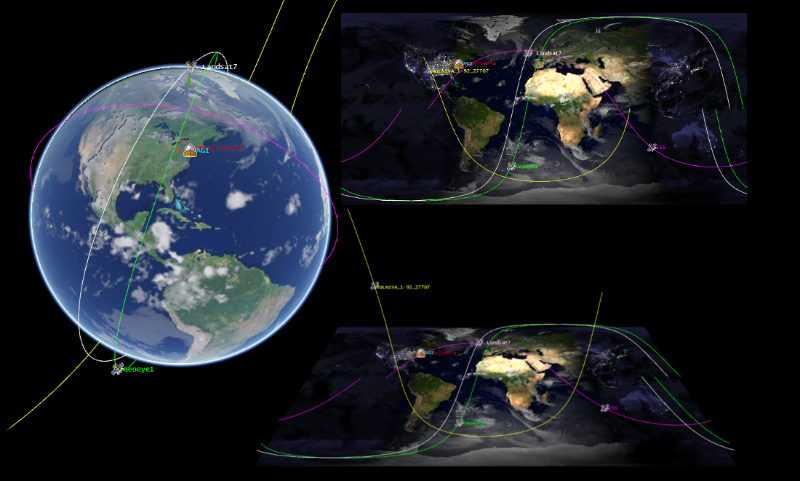 Cesium - Cesium can be used to display 3D globes and maps via WebGL technology