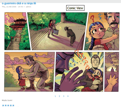 Comic View screenshot 1