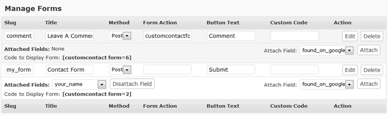 Custom Contact Forms screenshot 3