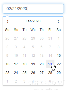 Datepicker - Various date formats and limited selection ranges are also supported