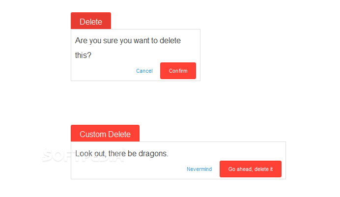 Deleted - Deleted helps developers implement a double-click system for delete actions