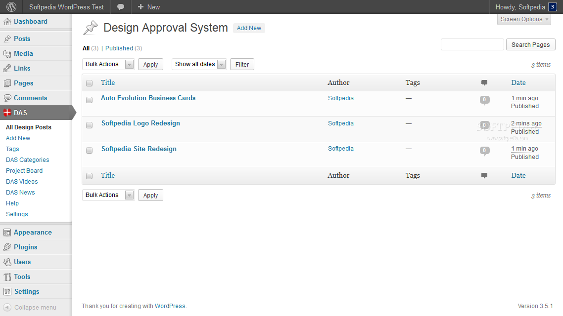 Design Approval System - In the backend, designers can see a list of all their active design projects
