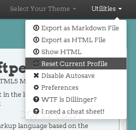 Dillinger - Various other utilities are also packed with the Dillinger editor