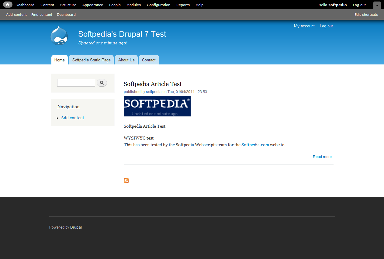 Blog archiv masterspiratebay for Drupal 7 view template
