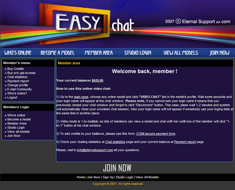 Easy Chat Pay-Per-View screenshot 2