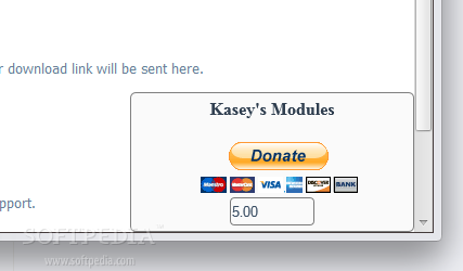 Floating Donate Button screenshot 1