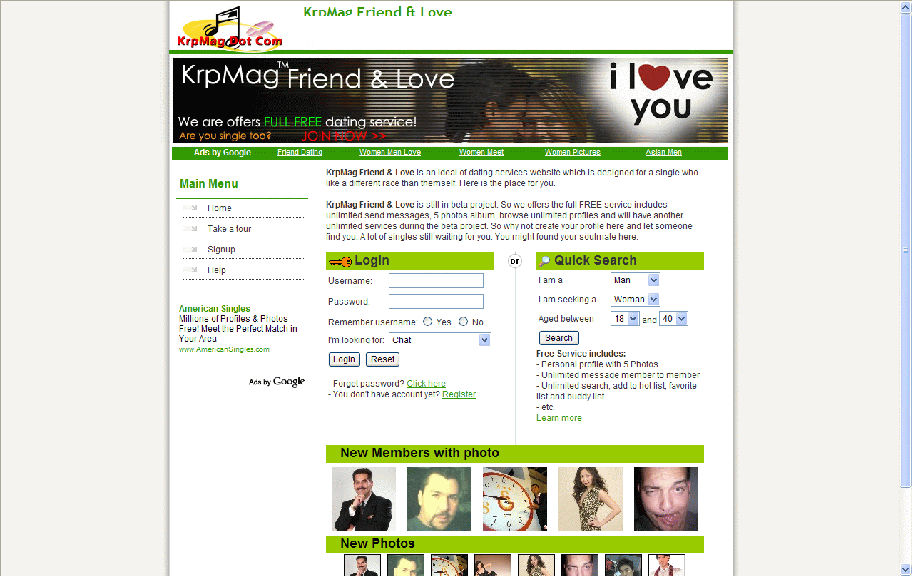 Friend&Love screenshot 1