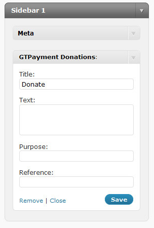 GTPayment Donations screenshot 2