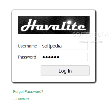 Havalite CMS screenshot 2