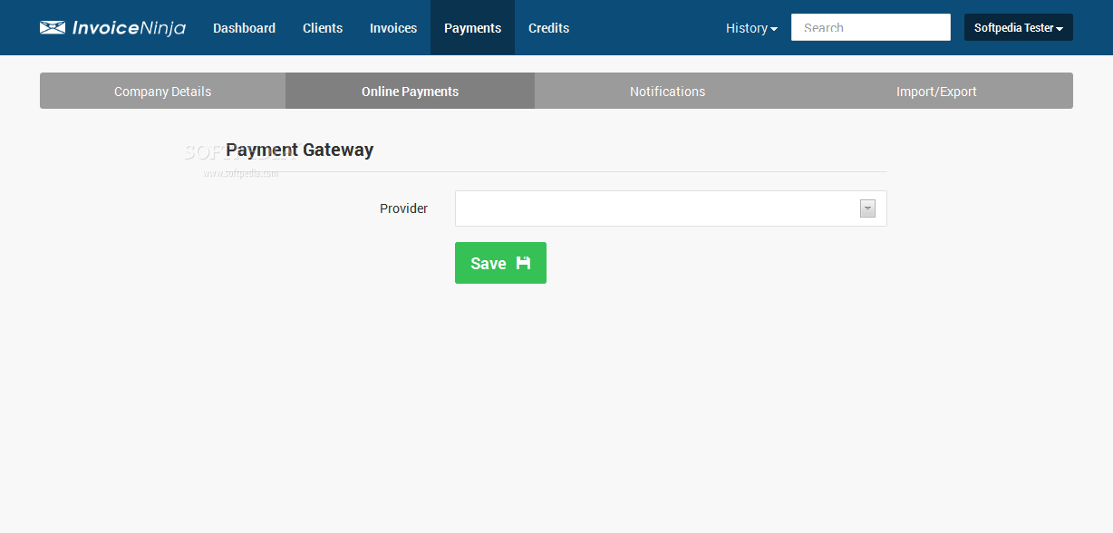 Invoice Ninja - New payment gateways can be added if needed or not supported by default