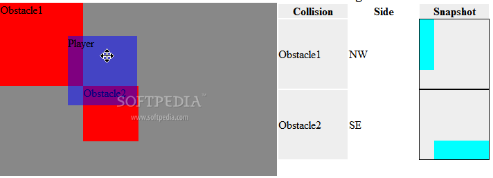JQuery Collision screenshot 1