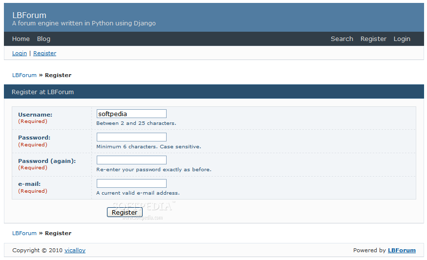 LBForum screenshot 4