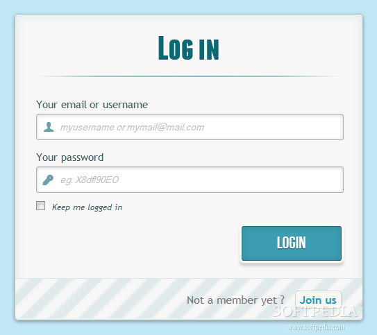 Login Forms Examples Login And Registration Form