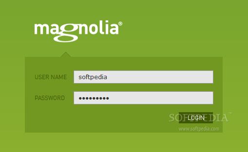 Magnolia - The Magnolia CMS backend is password protected