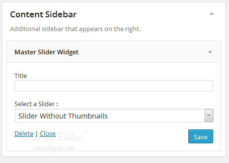 how to create a slider widget in wordpress