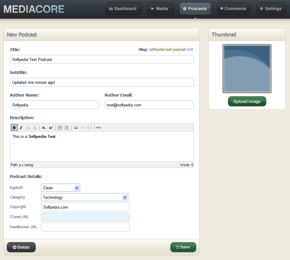 MediaCore screenshot 6