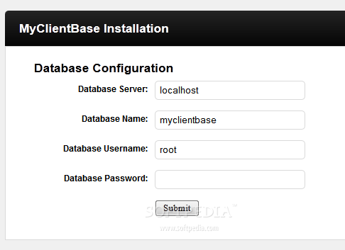 MyClientBase screenshot 1