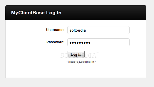 MyClientBase screenshot 2