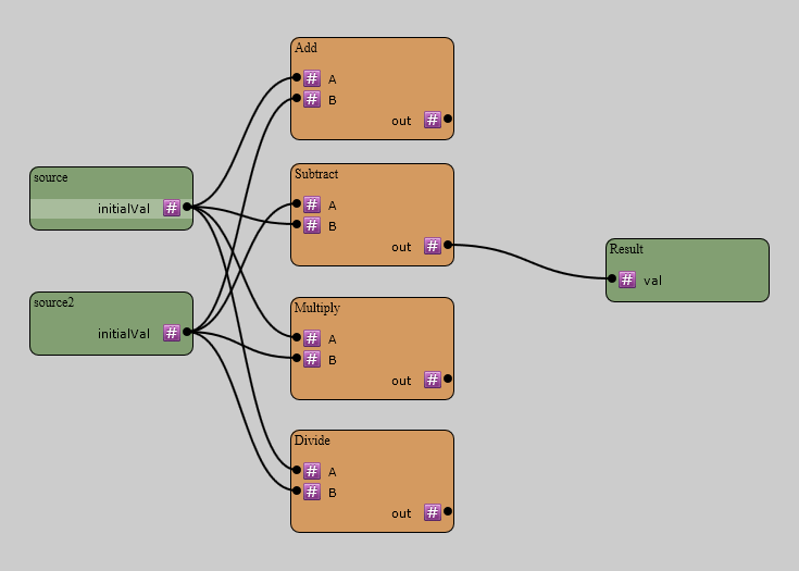 NodeGraphJS screenshot 1