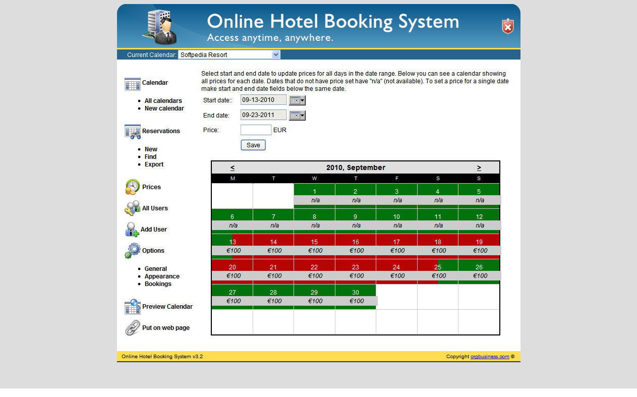 free online booking system for website
