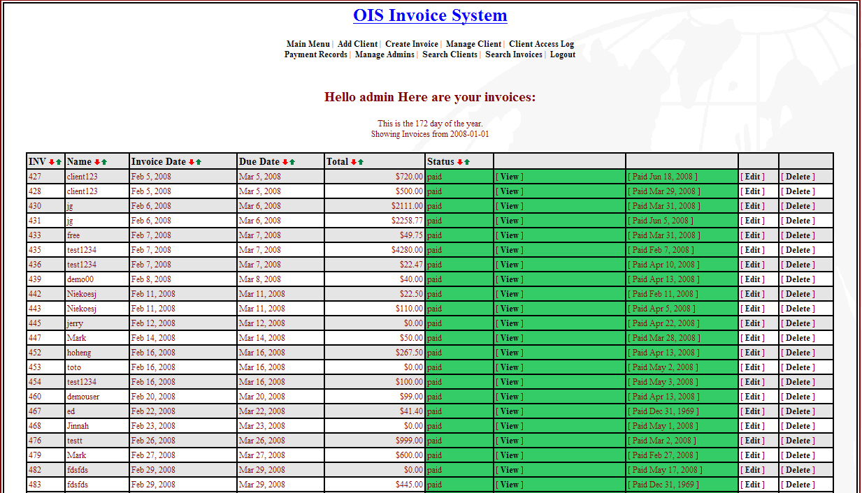 Online Invoice System Download - Online invoice system