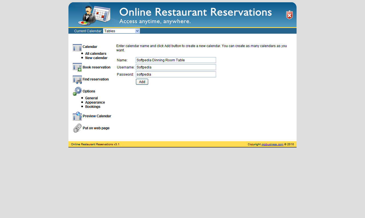 online reservation All new reservations made online will require immediate and full payment by  credit card if this is not possible, please use one of the alternative booking  methods.