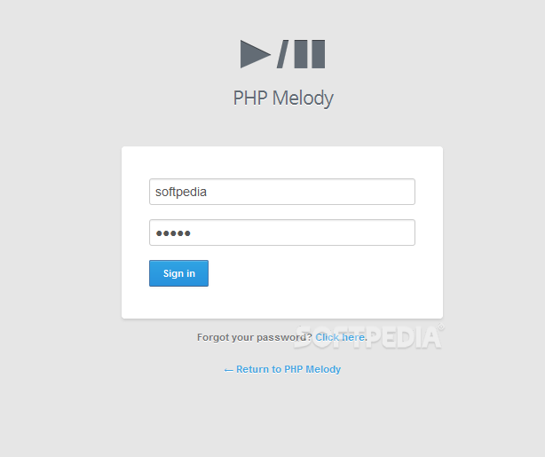 PHP Melody - All PHP Melody installations are protected against unauthorized access