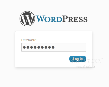 Password Protected - Protected blog, must enter a password to access