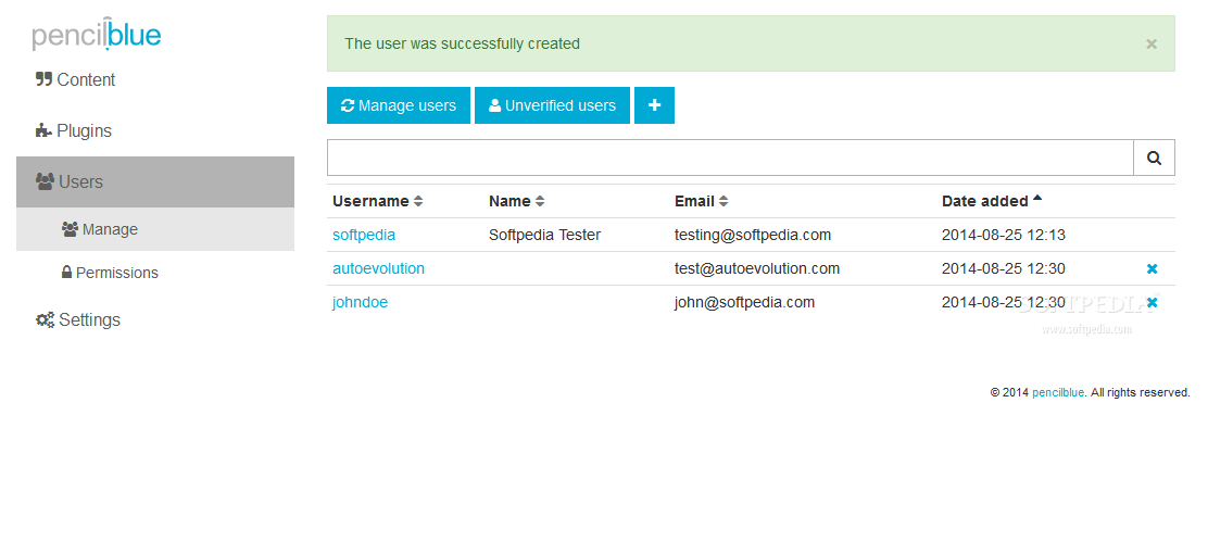 PencilBlue - PencilBlue also lets webmasters manage the site's userbase and individual user accounts