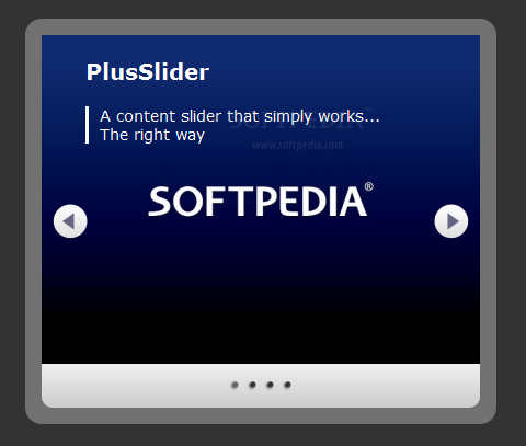 PlusSlider - PlusSlider can be used in creating simple image and content sliders