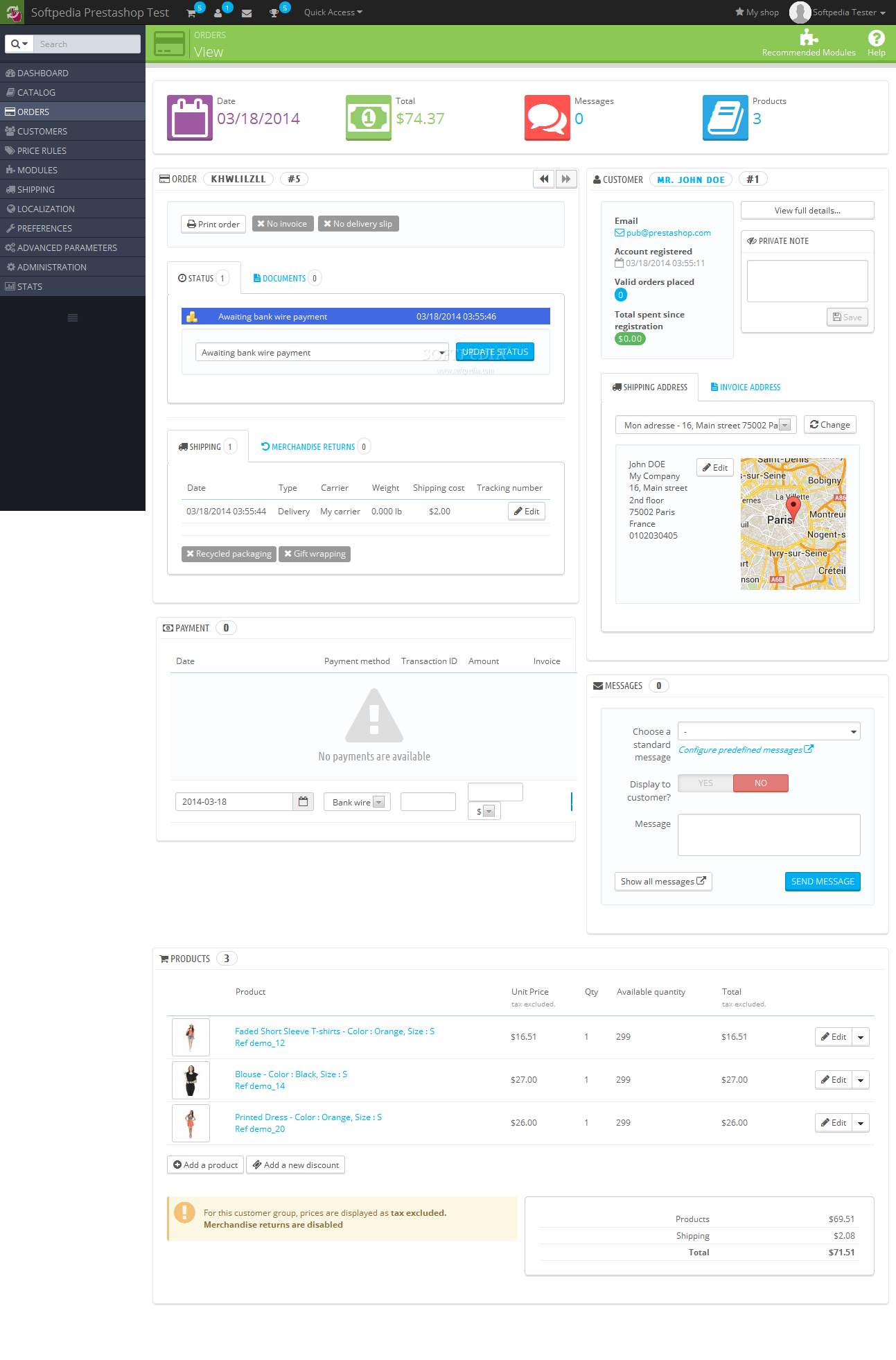 PrestaShop - screenshot #26