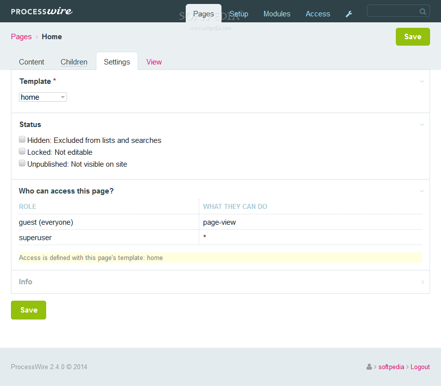 ProcessWire - screenshot #7