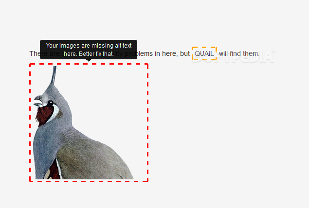 Quail - Quail checks a page's content against various accessibility guidelines