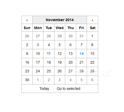 React Date Picker - The React Date Picker plugin does what you expect it to, adds a date picker to your React apps